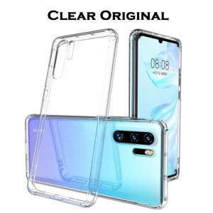 Clear Original | Прозрачный TPU чехол 2мм для Huawei P30 Pro