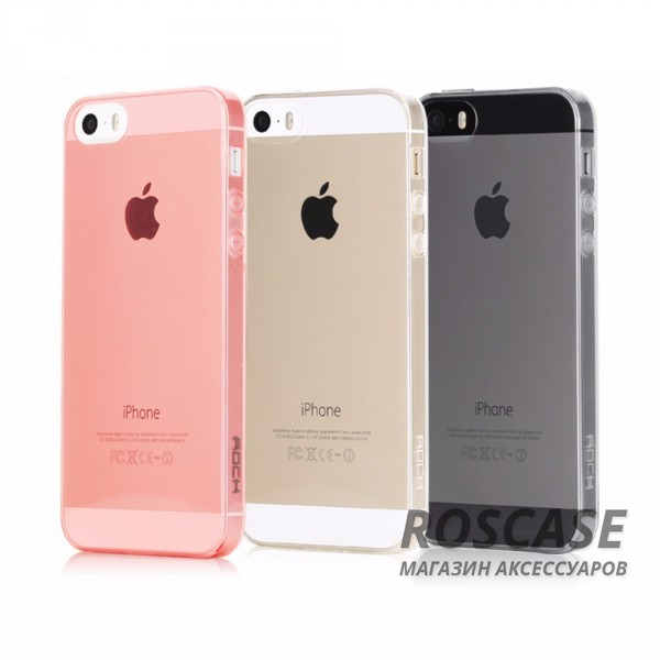 фото TPU чехла ROCK Slim Jacket для Apple iPhone 5/5S/5SE