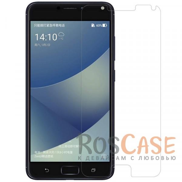 Прозрачная глянцевая защитная пленка Nillkin на экран с гладким пылеотталкивающим покрытием для Asus Zenfone 4 Max (ZC554KL)Описание:бренд&amp;nbsp;Nillkin;совместимость - Asus Zenfone 4 Max (ZC554KL);материал: полимер;тип: прозрачная пленка;ультратонкая;не влияет на чувствительность экрана;защита от царапин и потертостей;фильтрует УФ-излучение;размер пленки -&amp;nbsp;147,0*69,0 мм.<br><br>Тип: Защитная пленка<br>Бренд: Nillkin