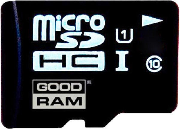 Карта памяти GoodRam microSDHC UHS-1 8 GB Class 10 + SD adapter