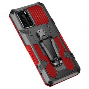 i-Crystal | Противоударный чехол с креплением на пояс и подставкой  для Huawei P40