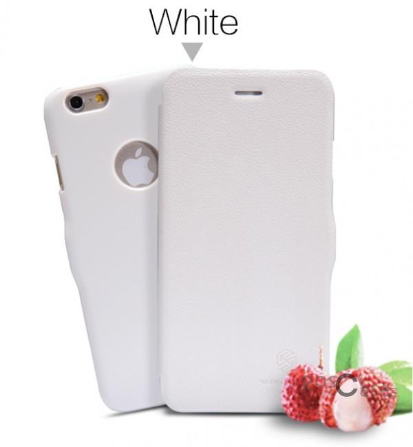 Кожаный чехол (книжка) Nillkin Fresh Series для Apple iPhone 6/6s plus (5.5) (Белый)Описание:Изготовлен компанией&amp;nbsp;Nillkin;Спроектирован персонально для&amp;nbsp;Apple iPhone 6/6s plus (5.5);Материал: синтетическая высококачественная кожа и полиуретан;Форма: чехол в виде книжки.Особенности:Исключается появление царапин и возникновение потертостей;Восхитительная амортизация при любом ударе;Фактурная поверхность;Не подвержен деформации;Непритязателен в уходе.<br><br>Тип: Чехол<br>Бренд: Nillkin<br>Материал: Искусственная кожа