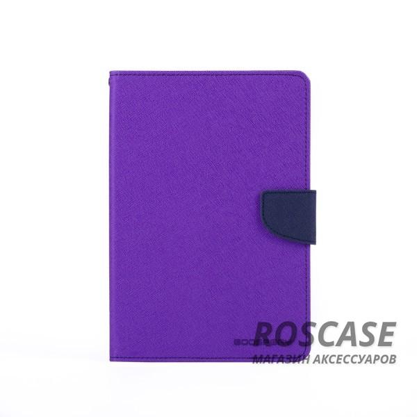 Чехол (книжка) Mercury Fancy Diary series для Samsung Galaxy Tab S2 8.0 (Фиолетовый / Синий)Описание:производитель  -  бренд&amp;nbsp;Mercury;совместим с Samsung Galaxy Tab S2 8.0;материалы  -  искусственная кожа, термополиуретан;форма  -  чехол-книжка.&amp;nbsp;Особенности:рельефная поверхность;все функциональные вырезы в наличии;внутренние кармашки;магнитная застежка;защита от механических повреждений;трансформируется в подставку.<br><br>Тип: Чехол<br>Бренд: Mercury<br>Материал: Искусственная кожа