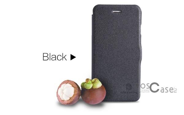 Чехол-книжка c магнитной застежкой для Apple iPhone 6 plus (5.5)  / 6s plus (5.5) (Черный)Описание:Изготовлен компанией&amp;nbsp;Nillkin;Спроектирован персонально для&amp;nbsp;Apple iPhone 6 plus (5.5)  / 6s plus (5.5);Материал: синтетическая высококачественная кожа и полиуретан;Форма: чехол в виде книжки.Особенности:Исключается появление царапин и возникновение потертостей;Восхитительная амортизация при любом ударе;Фактурная поверхность;Не подвержен деформации;Непритязателен в уходе.<br><br>Тип: Чехол<br>Бренд: Nillkin<br>Материал: Искусственная кожа