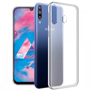 Прозрачный силиконовый чехол  для Samsung Galaxy A20s