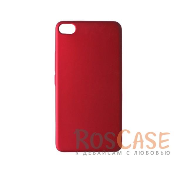 Пластиковая накладка soft-touch с защитой торцов Joyroom для Meizu U20 (Красный)<br><br>Тип: Чехол<br>Бренд: Epik<br>Материал: Пластик
