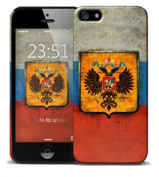 Герб на флаге России