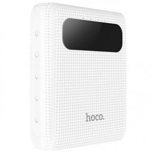 HOCO B20 | Портативное зарядное устройство Power Bank с двумя выходами USB и экраном (10000 mAh) для Huawei P10