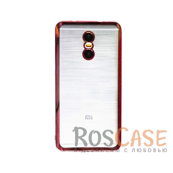 Прозрачный силиконовый чехол для Xiaomi Redmi Pro с глянцевой окантовкой (Розовый)Описание:материал - силикон;совместим с Xiaomi Redmi Pro;тип - накладка.Особенности:прозрачный;глянцевая окантовка;все вырезы предусмотрены;защищает от царапин и потертостей;тонкий дизайн;плотно облегает корпус.<br><br>Тип: Чехол<br>Бренд: Epik<br>Материал: TPU