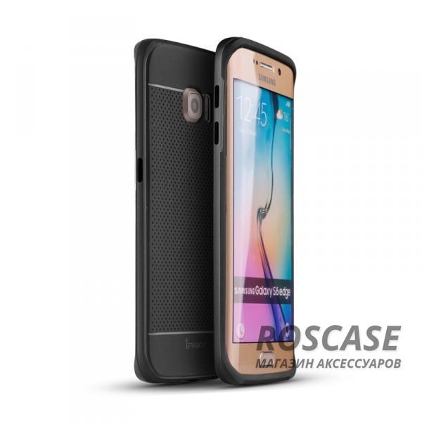 Чехол iPaky TPU+PC для Samsung G925F Galaxy S6 Edge (Черный / Черный)Описание:производитель: iPaky;совместимость: смартфон Samsung G925F Galaxy S6 Edge;материалы для изготовления: термополиуретан и поликарбонат;форм-фактор: накладка.Особенности:дополнительный каркас из поликарбоната;износостойкость и прочность;ультратонкая структура;в наличии все необходимые функциональные вырезы;легко чистится.<br><br>Тип: Чехол<br>Бренд: Epik<br>Материал: TPU