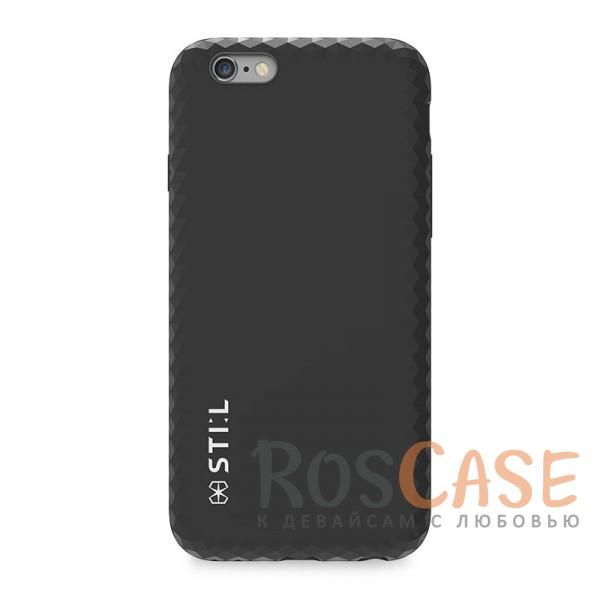 Двухслойный пластиковый чехол STIL Jewel Edge с фактурой ограненного алмаза по краям для Apple iPhone 6/6s (4.7) (Черный)Описание:бренд&amp;nbsp;STIL;чехол идеально совместим с Apple iPhone 6/6s (4.7);материалы - поликарбонат, термополиуретан;формат - накладка.<br><br>Тип: Чехол<br>Бренд: Stil<br>Материал: TPU