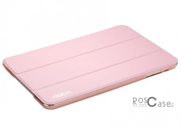 Кожаный чехол (книжка) Rock Uni Series для Apple IPAD mini (RETINA)/Apple IPAD mini 3 (Розовый / Pink)Описание:производитель  - &amp;nbsp;Rock;совместим с Apple IPAD mini (RETINA)/Apple IPAD mini 3;материалы  -  кожзам и микрофибра;форма  -  чехол-книжка.&amp;nbsp;Особенности:может выполнять роль подставки;имеет все необходимые вырезы;легко чистится;не увеличивает габариты планшета;защищает от ударов и падений;не выцветает.<br><br>Тип: Чехол<br>Бренд: ROCK<br>Материал: Искусственная кожа