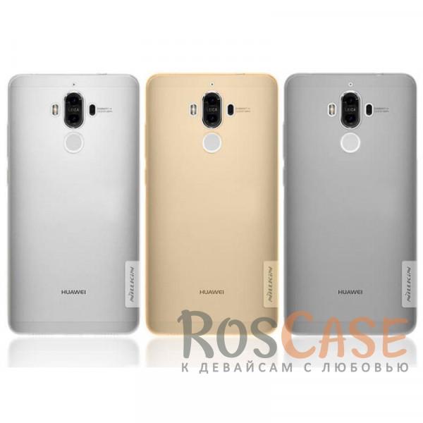 Мягкий прозрачный силиконовый чехол для Huawei Mate 9Описание:бренд:&amp;nbsp;Nillkin;совместимость: Huawei Mate 9;материал: термополиуретан;тип: накладка;ультратонкий дизайн;прозрачный корпус;не скользит в руках;защищает от механических повреждений.<br><br>Тип: Чехол<br>Бренд: Nillkin<br>Материал: TPU