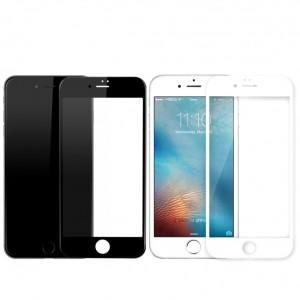 """Защитное стекло с цветной рамкой на весь экран для Apple iPhone 6/6s (4.7"""")"""