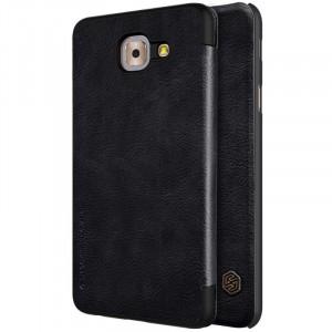 Nillkin Qin натур. кожа | Чехол-книжка для Samsung G615 Galaxy J7 Max