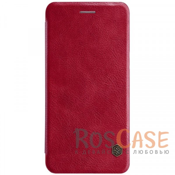 Чехол-книжка из натуральной кожи для OnePlus 5 (Красный)Описание:бренд&amp;nbsp;Nillkin;разработан для OnePlus 5;материалы: натуральная кожа, поликарбонат;защищает гаджет со всех сторон;на аксессуаре не заметны отпечатки пальцев;карман для визиток;функция Sleep mode;предусмотрены все необходимые вырезы;тонкий дизайн не увеличивает габариты девайса;тип: чехол-книжка.<br><br>Тип: Чехол<br>Бренд: Nillkin<br>Материал: Натуральная кожа