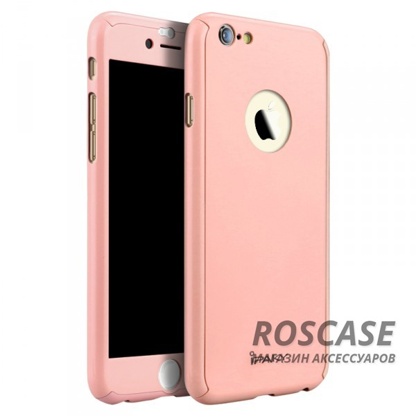 Чехол iPaky Painting 360 градусов для Apple iPhone 6/6s (4.7) (+ стекло на экран) (Розовый)Описание:бренд iPaky;разработан для Apple iPhone 6/6s (4.7);материал: пластик;тип: накладка со стеклом.Особенности:тонкий дизайн;пастельные тона;защита экрана;функциональные вырезы;защищает от механических повреждений;матовый.<br><br>Тип: Чехол<br>Бренд: Epik<br>Материал: TPU