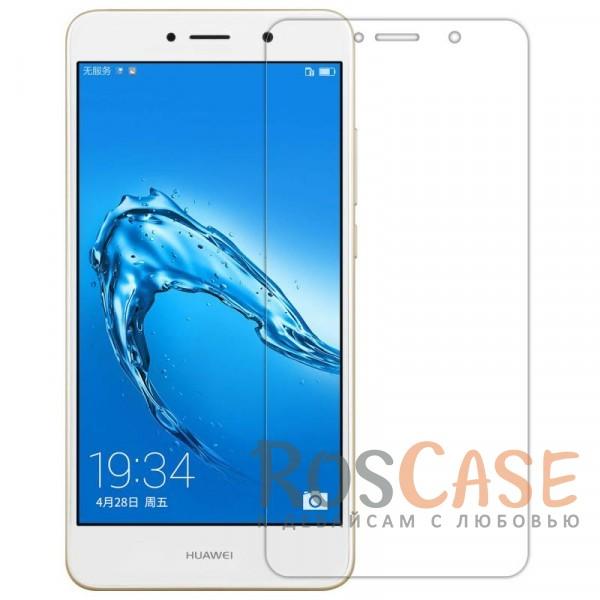 Прозрачная глянцевая защитная пленка на экран с гладким пылеотталкивающим покрытием для Huawei Y7 Prime (Анти-отпечатки)Описание:бренд&amp;nbsp;Nillkin;совместимость - Huawei Y7 Prime;материал: полимер;тип: прозрачная пленка;ультратонкая;не влияет на чувствительность экрана;защита от царапин и потертостей;фильтрует УФ-излучение;размер пленки -&amp;nbsp;146,7*68,2 мм.<br><br>Тип: Защитная пленка<br>Бренд: Nillkin