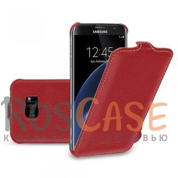 Кожаный чехол (флип) TETDED для Samsung G935F Galaxy S7 Edge (Красный / Red)Описание:компания-производитель  - &amp;nbsp;TETDED;совместимость - Samsung G935F Galaxy S7 Edge;материал  -  натуральная кожа;тип  -  флип.&amp;nbsp;Особенности:имеет все функциональные вырезы;легко устанавливается и снимается;тонкий дизайн;защищает от механических повреждений;не выцветает.<br><br>Тип: Чехол<br>Бренд: TETDED<br>Материал: Натуральная кожа
