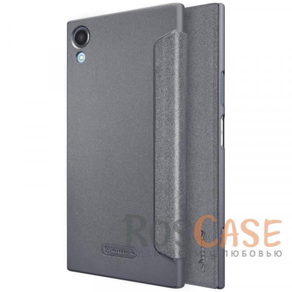 Защитный чехол-книжка с функцией сна (Sleep mode) для Sony Xperia XA1 Plus / XA1 Plus Dual (Черный)Описание:бренд&amp;nbsp;Nillkin;спроектирован для Sony Xperia XA1 Plus / XA1 Plus Dual;материалы: поликарбонат, искусственная кожа;блестящая поверхность;не скользит в руках;функция Sleep mode;предусмотрены все необходимые вырезы;защита со всех сторон;тип: чехол-книжка.<br><br>Тип: Чехол<br>Бренд: Nillkin<br>Материал: Искусственная кожа