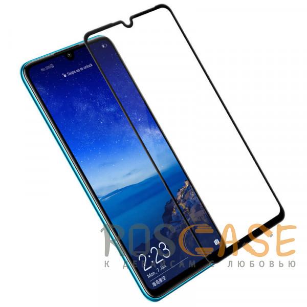Фото Черный 5D защитное стекло для Huawei P30 lite / Nova 4E на весь экран