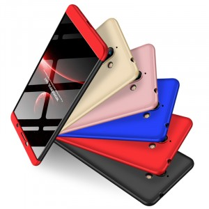 GKK LikGus 360° | Двухсторонний чехол для Nokia 7 plus с защитными вставками