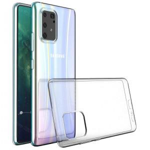 Прозрачный силиконовый чехол  для Samsung Galaxy S10 Lite (2020)