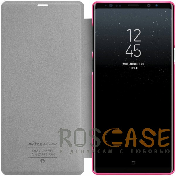 Изображение Розовый Nillkin Sparkle | Чехол-книжка для Samsung Galaxy Note 9
