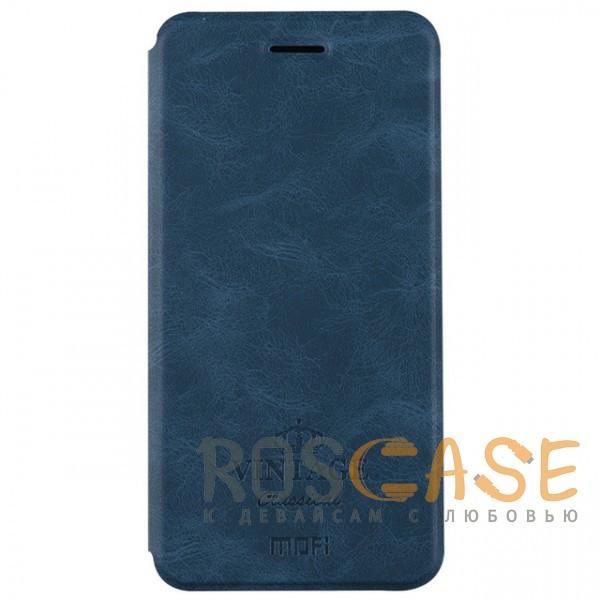Кожаный чехол (книжка) MOFI Vintage Series для Xiaomi Redmi Note 5A Prime / Redmi  Y1 (Синий)Описание:совместимость: Xiaomi Redmi Note 5A Prime / Redmi&amp;nbsp; Y1;материалы: искусственная кожа, термополиуретан;функция подставки;отделение для карточек или купюр;формат: чехол-книжка;винтажный стиль.<br><br>Тип: Чехол<br>Бренд: Mofi<br>Материал: Искусственная кожа