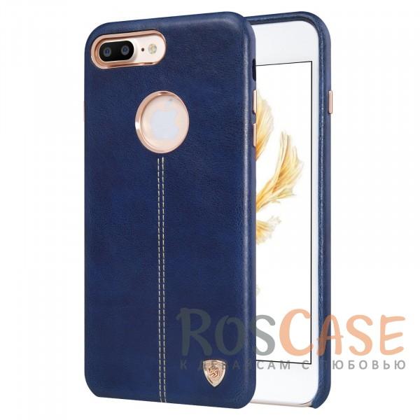 Кожаная накладка Nillkin Englon Series для Apple iPhone 7 plus (5.5) (Синий)Описание:произведено брендом&amp;nbsp;Nillkin;совместимость - Apple iPhone 7 plus (5.5);материал: натуральная кожа, микрофибра;тип: накладка.&amp;nbsp;Особенности:ультратонкий дизайн;фактурная поверхность;декоративная строчка;не скользит в руках;защищает заднюю панель и боковые грани.<br><br>Тип: Чехол<br>Бренд: Nillkin<br>Материал: Натуральная кожа