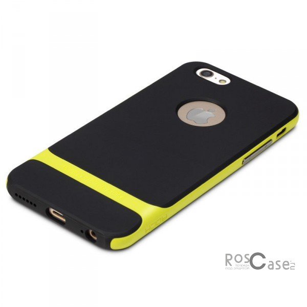 TPU+PC чехол Rock Royce Series для Apple iPhone 6/6s plus (5.5) (Черный / Зеленый)Описание:производитель  -  компания Rock;разработан для Apple iPhone 6/6s plus (5.5);материалы  -  полиуретан, поликарбонат;тип  -  накладка.&amp;nbsp;Особенности:тонкий и легкий;окантовка из поликарбоната;в наличии все функциональные вырезы;легкая очистка;хорошее сцепление с поверхностями;защищает от механических повреждений;легкая установка и удаление.<br><br>Тип: Чехол<br>Бренд: ROCK<br>Материал: TPU