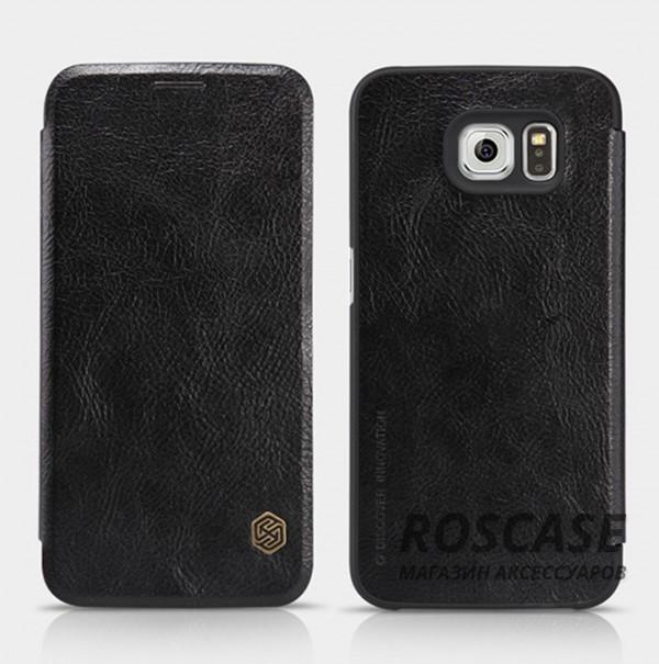 Кожаный чехол (книжка) Nillkin Qin Series для Samsung Galaxy S6 G920F/G920D Duos (Черный)Описание:бренд: Nillkin;идеален: Samsung Galaxy S6 G920F/G920D Duos;изготовление: кожа в сочетании с полиуретаном;вид: книжка.Особенности:не скользит в руках;не выгорает;надежная комплексная защита смартфона;практичность материала.<br><br>Тип: Чехол<br>Бренд: Nillkin<br>Материал: Натуральная кожа