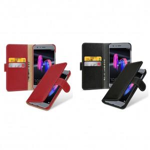 TETDED натур. кожа | Чехол-книжка для Gerzat с магнитной застежкой для Huawei Honor 9