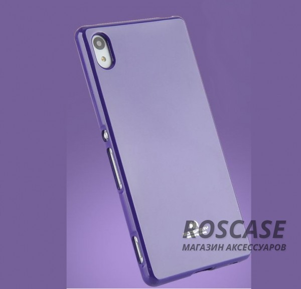 фотография Фиолетовый TPU чехол Mercury Jelly Color series для Sony Xperia Z3+/Xperia Z3+ Dual