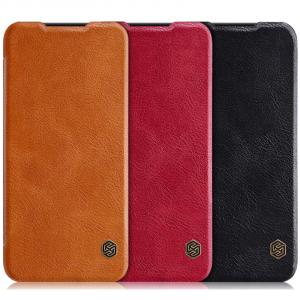 Nillkin Qin натур. кожа | Чехол-книжка для Xiaomi Redmi Note 7 / Note 7 Pro / Note 7s