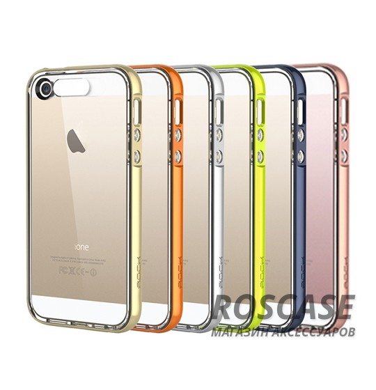 фото светящийся TPU чехол ROCK Tube Series для Apple iPhone 5/5S/5SE
