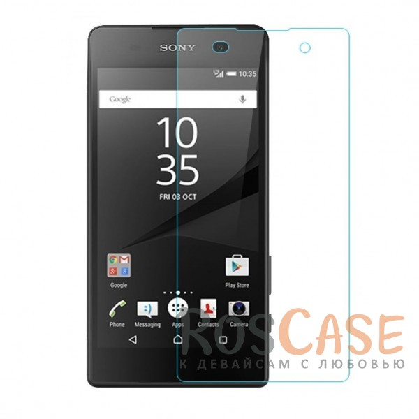 Защитное стекло Ultra Tempered Glass 0.33mm (H+) для Sony Xperia E5 (картонная упаковка)Описание:совместимо с устройством Sony Xperia E5;материал: закаленное стекло;тип: защитное стекло на экран.<br><br>Тип: Защитное стекло<br>Бренд: Epik