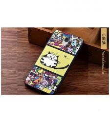 Пластиковый чехол для Meizu M3 Note с принтом котиков и надписями