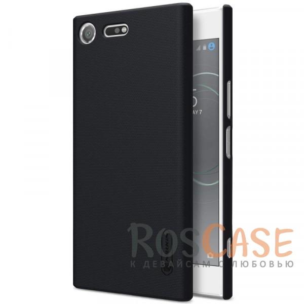 Матовый чехол для Sony Xperia XZ Premium (+ пленка) (Черный)Описание:бренд&amp;nbsp;Nillkin;совместим с Sony Xperia XZ Premium;рельефная фактура;тип: накладка;в наличии все функциональные вырезы;закрывает заднюю панель и боковые грани;не скользит в руках;защищает от ударов и царапин.<br><br>Тип: Чехол<br>Бренд: Nillkin<br>Материал: Поликарбонат