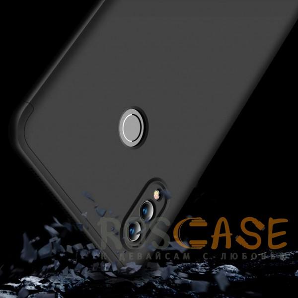 Изображение Черный GKK LikGus 360° | Двухсторонний чехол для Huawei Honor Note 10 с защитными вставками