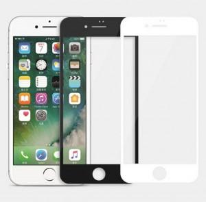 Ультратонкое антибликовое защитное стекло Nillkin Edge Shatterproof на весь экран с олеофобным покрытием  для iPhone 8 Plus