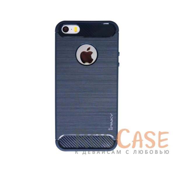 TPU чехол iPaky Slim Series для Apple iPhone 5/5S/SE (Синий)Описание:бренд - iPaky;совместим с Apple iPhone 5/5S/SE;материал: термополиуретан;тип: накладка.Особенности:эластичный;свойство анти-отпечатки;защита углов от ударов;ультратонкий;защита боковых кнопок;надежная фиксация.<br><br>Тип: Чехол<br>Бренд: Epik<br>Материал: TPU