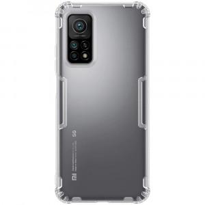 Nillkin Nature | Прозрачный силиконовый чехол  для Xiaomi Mi 10T (Pro)