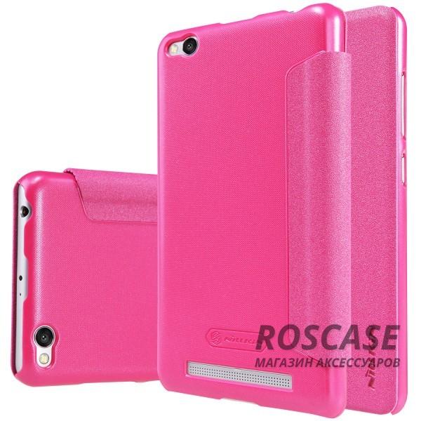 Кожаный чехол (книжка) Nillkin Sparkle Series для Xiaomi Redmi 3 (Розовый)Описание:компания -&amp;nbsp;Nillkin;разработан для Xiaomi Redmi 3;материалы  -  синтетическая кожа, поликарбонат;форма  -  чехол-книжка.&amp;nbsp;Особенности:защищает со всех сторон;имеет все необходимые вырезы;легко чистится;не увеличивает габариты;защищает от ударов и царапин;морозоустойчивый.<br><br>Тип: Чехол<br>Бренд: Nillkin<br>Материал: Искусственная кожа