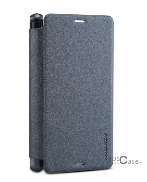 Кожаный чехол (книжка) Nillkin Sparkle Series для Sony Xperia Z3 Compact (Черный)Описание:разработчик и производитель&amp;nbsp;Nillkin;изготовлен из синтетической кожи и поликарбоната;фактурная поверхность;тип конструкции: чехол-книжка;совместим с Sony Xperia Z3 Compact.&amp;nbsp;Особенности:внутренняя отделка из микрофибры;ультратонкий;не скользит в руках;яркая, насыщенная палитра цветов.<br><br>Тип: Чехол<br>Бренд: Nillkin<br>Материал: Искусственная кожа
