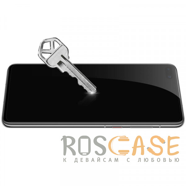 Фотография Черное Nillkin XD CP+ Max | Защитное закаленное стекло полноэкранное для Huawei P40
