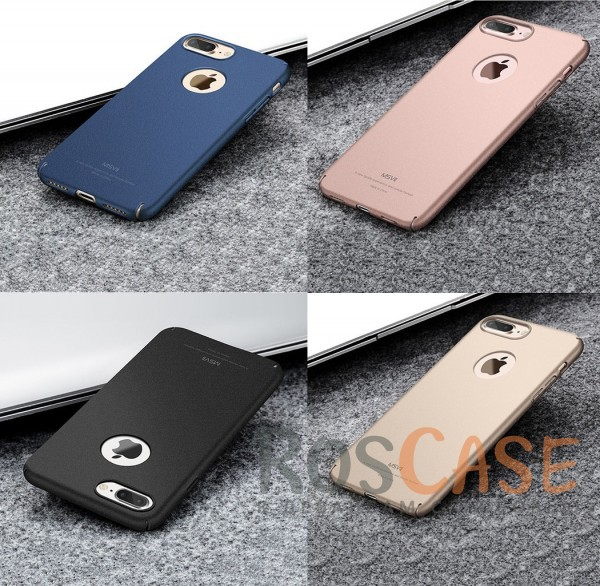 Тонкий матовый защитный чехол из пластика Msvii Quicksand с антискользящим покрытием для Apple iPhone 7 plus / 8 plus (5.5)Описание:производитель - Msvii;совместим с Apple iPhone 7 plus / 8 plus (5.5);материал  -  пластик;тип  -  накладка.&amp;nbsp;Особенности:матовая поверхность;имеет все разъемы;тонкий дизайн не увеличивает габариты;накладка не скользит;защищает от ударов и царапин;износостойкая.<br><br>Тип: Чехол<br>Бренд: MSVII<br>Материал: Пластик