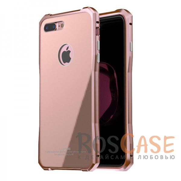 Металлический бампер Luphie Diamond Series с акриловой вставкой для Apple iPhone 7 plus / 8 plus (5.5) (Розовый / Rose Gold)Описание:бренд -&amp;nbsp;Luphie;материал - алюминий, акриловое стекло;совместимость: Apple iPhone 7 plus / 8 plus (5.5);тип - бампер со вставкой.акриловая вставка;прочный алюминиевый бампер;в наличии все вырезы;ультратонкий дизайн;защита устройства от ударов и царапин.<br><br>Тип: Чехол<br>Бренд: Luphie<br>Материал: Металл