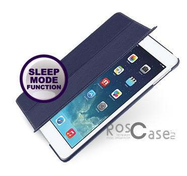 Кожаный чехол (книжка) TETDED для Apple IPAD AIR (Синий / Navy Blue)Описание:бренд:&amp;nbsp;TETDED;совместим с Apple IPAD AIR;материал: натуральная кожа;форма: книжка.&amp;nbsp;Особенности:выполнен вручную;полный набор функциональных прорезей;тонкое исполнение;функция Sleep mode;амортизация силы удара.<br><br>Тип: Чехол<br>Бренд: TETDED<br>Материал: Натуральная кожа
