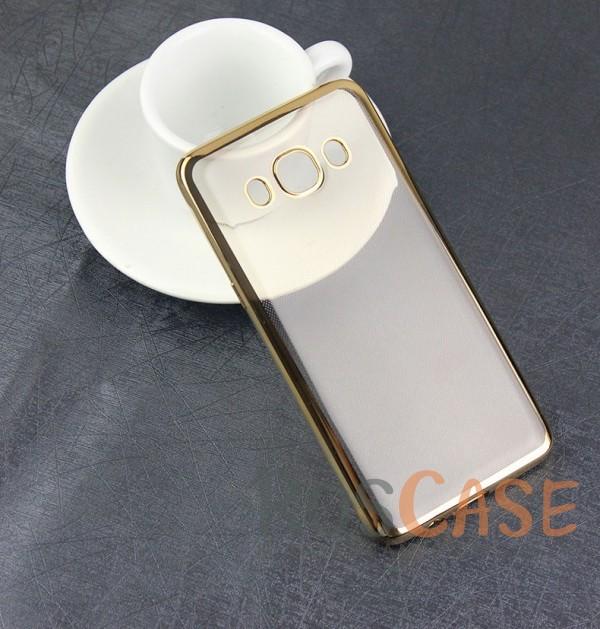 Прозрачный силиконовый чехол для Samsung J710F Galaxy J7 (2016) с глянцевой окантовкой (Золотой)Описание:материал - силикон;совместим с Samsung J710F Galaxy J7 (2016);тип - накладка.Особенности:прозрачный;глянцевая окантовка;все вырезы предусмотрены;защищает от царапин и потертостей;тонкий дизайн;плотно облегает корпус.<br><br>Тип: Чехол<br>Бренд: Epik<br>Материал: TPU